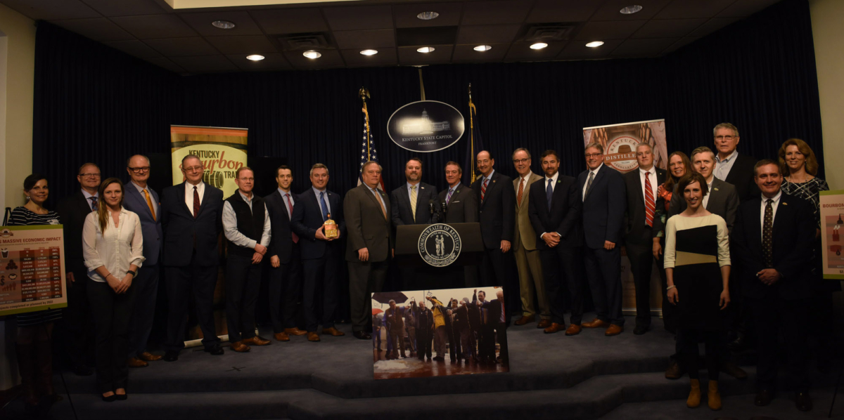 Ec Impact Presser Group 2019 - Make It A Double: New Study Shows Bourbon Industry Has Doubled Economic Impact In 10 Years
