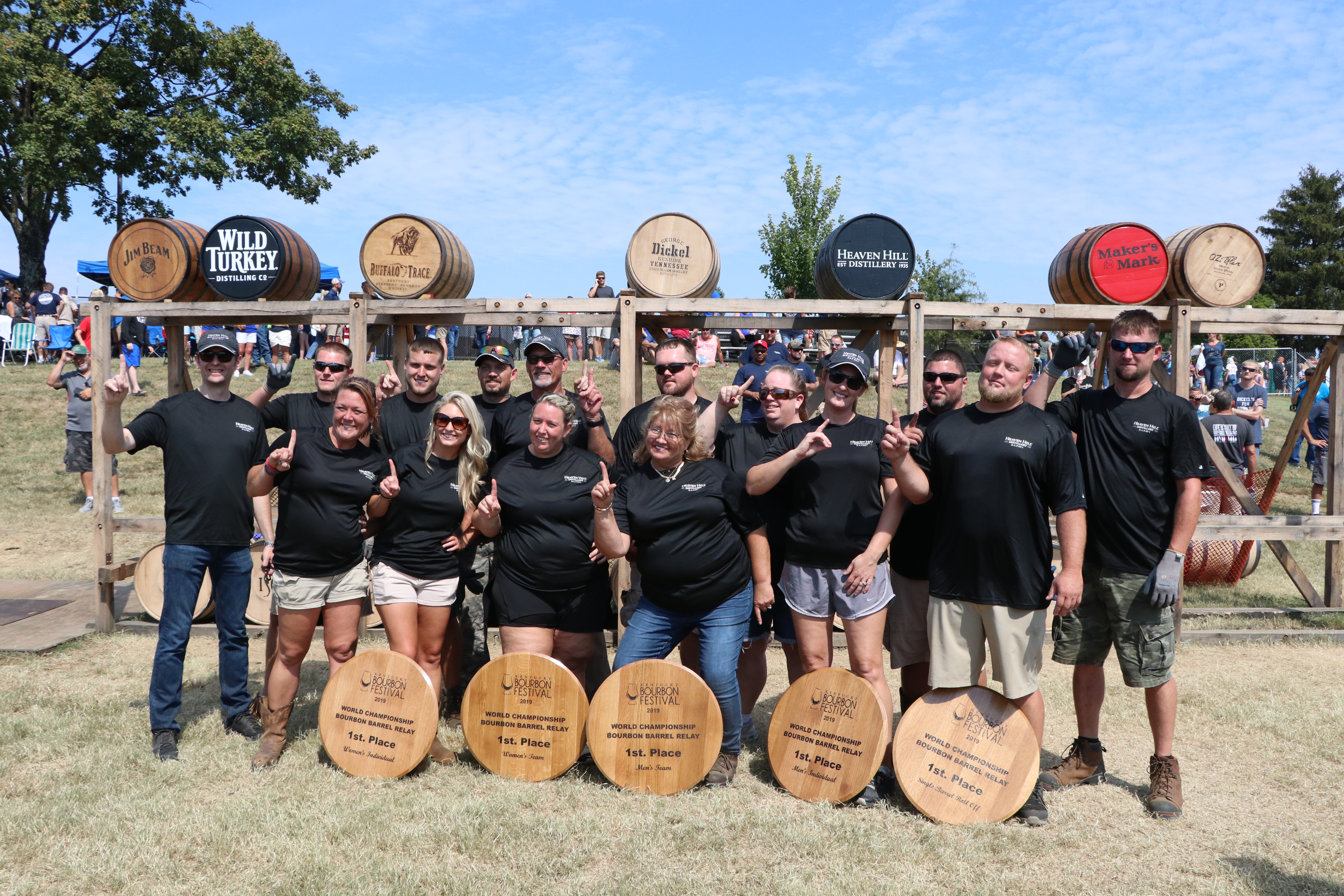 IMG 9151 - KBF CROWNS WINNING ROLLERS IN THE 2019 WORLD CHAMPIONSHIP BOURBON BARREL RELAY® RACES