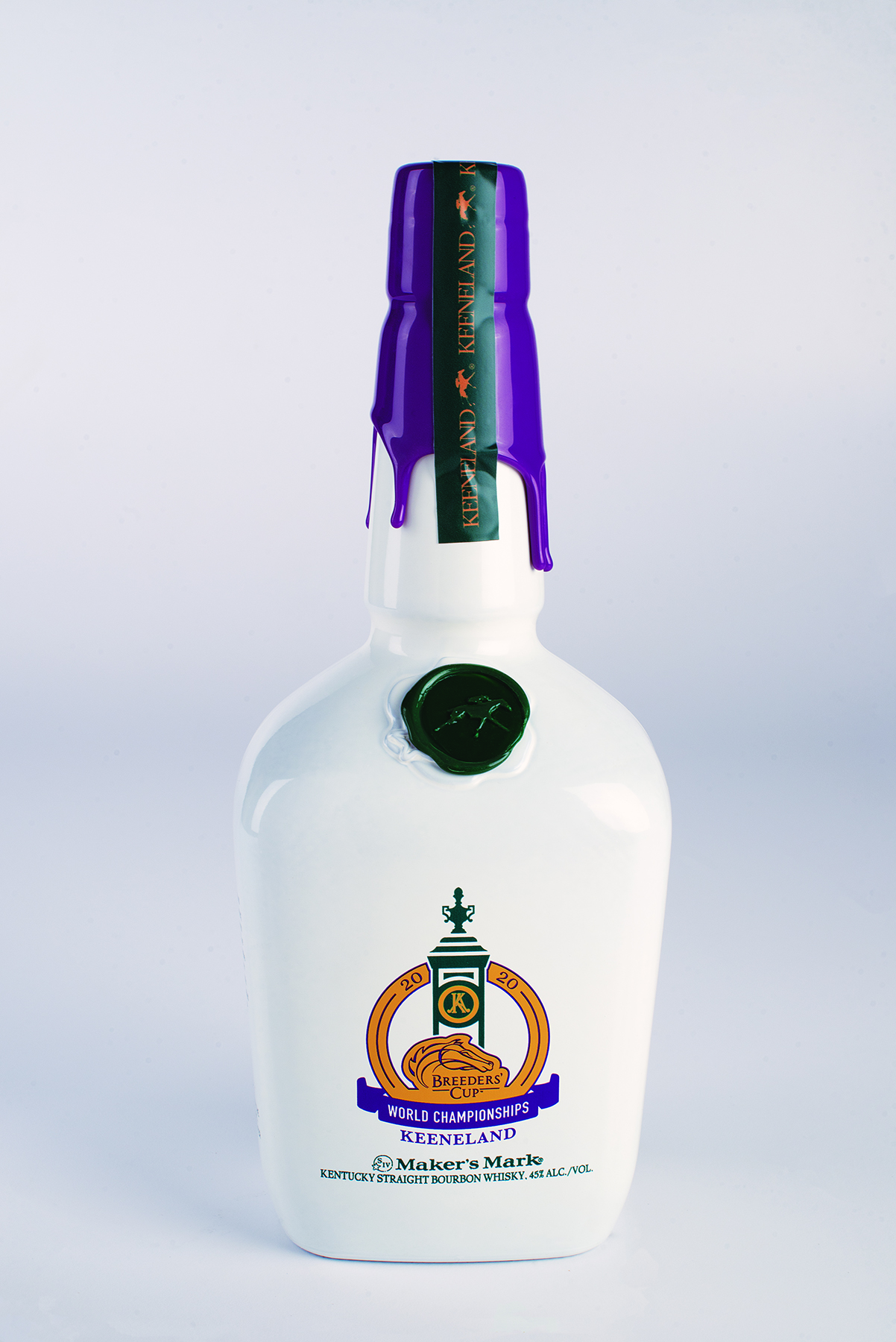 Breeders Cup 2020 1 - UNIQUE BREEDERS' CUP COMMEMORATIVE BOTTLE TO BENEFIT PDJF